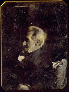 ca. 1844-45, portrait of Andrew Jackson by Edward Anthony  via the Library of Congress, Daguerreotype Collection