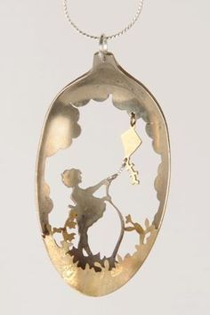 http://www.pinterest.com/christiehobbs/jewelry/ Gorgeous Whimsical Antique Spoon Jewelry by Anomali