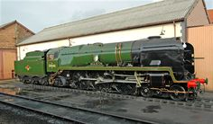 Braunton at Minehead Train Car, Train Tracks, Mallard Train, Southern Trains, Diesel, Southern Railways, Steam Railway, Electric Train, British Rail