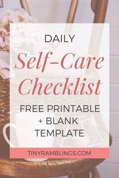 Daily Checklist with Free Printables Daily Self-Care checklist free printable + blank template.Daily Self-Care checklist free printable + blank template. Kids Health, Oral Health, Children Health, Health Care, Dental Health, Implants Dentaires, Dental Implants, Dental Surgery, Daily Checklist