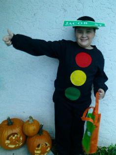 Traffic light/ Jacob St. costume