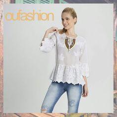 Leveza e estilo, para quem quer um verão cheio de encanto!  #oufashion #verão2016 #bata #fashion #cute