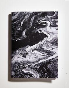 paperosa joy marble notebook notepad  www.paperosa.pl