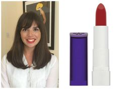 Rimmel Moisture Renew. Red Lipstick For Brunettes With Warm Skin Tones