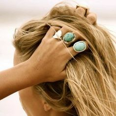 How to Chic: BOHO STONE RINGS