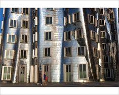 "Photograph-The Neuer Zollhof building by Frank Gehry at the Medienhafen or Media Harbour, Dusseldorf-10""x8"" Photo Print expertly made in the USA"