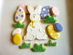 Mr. Easter Bunny Cookies! by lizybbakes, via Flickr