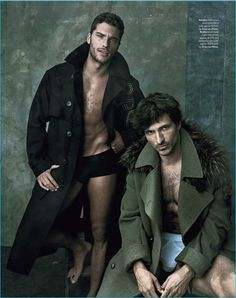 Andres Velencoso, Baptiste Giabiconi + More Star in GQ Australia Collections…