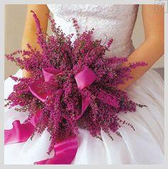 bukiet ślubny z wrzosów - Szukaj w Google