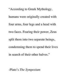 """So without Zeus, there'd be no such thing called """"soulmates""""."""