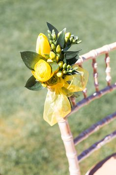 Chair decorations----- everything but head table or matching on cloth from head table chair