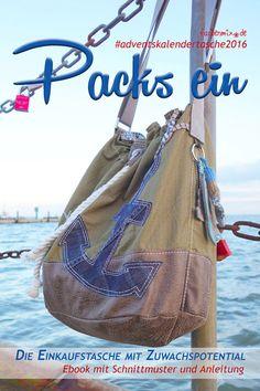Packs ein! - Taschenwunder, Kreativ-Ebook - farbenmix Online-Shop - Schnittmuster, Anleitungen zum Nähen