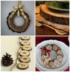 Holiday decor inspired by nature