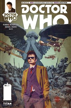 Doctor Who - The 10th Doctor #6 - http://c4comic.it/2014/12/31/anteprima-doctor-who-the-10th-doctor-6/