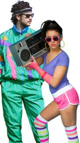 80's costume for guys - Google Search