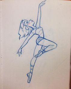 Dancer sketch #design #ballet #girlsketch #characterdesign #art #dancer #silhouette #cute Pretty Drawings, Amazing Drawings, Cool Drawings, Drawing Sketches, Pencil Drawings, Drawing People, Ballerina Drawing, Ballet Drawings, Dancing Drawings