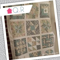 Tina made this quilt last year using Tilda fabric. What a stunning quilt and such gorgeous fabrics. Love this!