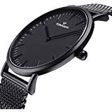 Cheap relogio brand, Buy Quality relogio new directly from China relogio relogios Suppliers: Top Brand Luxury Quartz watch Casual men Black Japan quartz-watch stainless steel Mesh strap ultra thin clock male Relogio New Casual Watches, Watches For Men, Wrist Watches, Men's Watches, Super Glasses, Gold Chains For Men, Stainless Steel Mesh, Watch Brands, Rolex