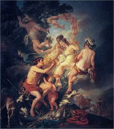 Paridův soud (Judgement of Paris) - Louis Jean Francois Lagrenée