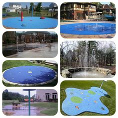 100 Best Residential Backyard Splash Pad Images Backyard
