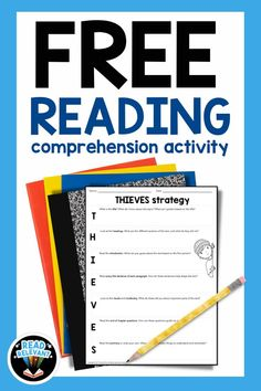 The THIEVES mnemonic device is a great way to engage with any informational text! Get this free download now... a reading comprehension strategy that will be perfect for your classroom.