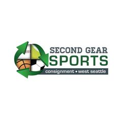 The Second Gear Sports logo encompasses our passion for sports and caring for the environment through reduce, reuse and recycle.