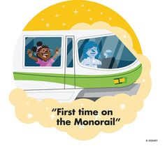 Remember your first time riding the Monorail at Walt Disney World?