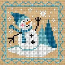 Thrilling Designing Your Own Cross Stitch Embroidery Patterns Ideas. Exhilarating Designing Your Own Cross Stitch Embroidery Patterns Ideas. Snowman Cross Stitch Pattern, Xmas Cross Stitch, Cross Stitch Cards, Cross Stitch Kits, Cross Stitch Designs, Cross Stitching, Cross Stitch Embroidery, Cross Stitch Patterns, Embroidery Patterns