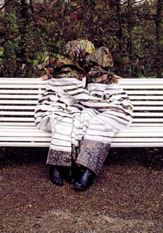 Camouflage Photography by Desiree Palmen
