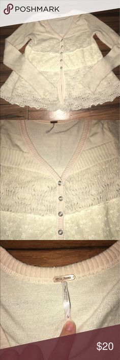 Free people Nice used, size large, smoke free Free People Sweaters Cardigans