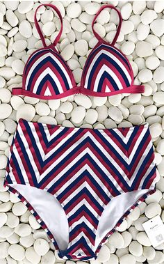 Beach Look, $21.99 & free shipping! Want to look good, but it's just too lazy now? We've got the perfect swimwear for you. Adjustable shoulder straps and high-waist fit will lead you in a comfy and chic status. It is a go-to choice.