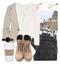 """When everyone thinks that you are 14 but you're actually about to turn 18..."" by alexandra-provenzano ❤ liked on Polyvore featuring Nudie Jeans Co., Oscar de la Renta, Elizabeth and James, Oliver Peoples, Forever 21, WALL and ROSEFIELD"