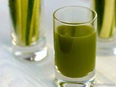 "Morning ""Cucumber Cool"" Cleansing Juice via Elys L"