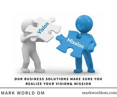 We help you realize your vision and mission. Visit us at www.markworldom.com