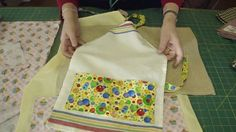 http://missouriquiltco.com - Part 2 of 2. Jenny shows how to make a cute apron using tea towels. To access the free pattern and a great selection of tea towe...