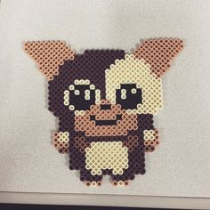 Gizmo Gremlins perler beads by cice3203