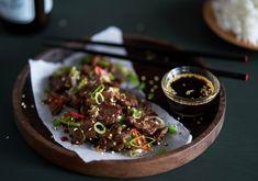 Reinsdyr Yakiniku Reindeer Meat, Wild Game Recipes, Frisk, Japanese Food, Kos, Food To Make, Good Food, Beef, Dinner