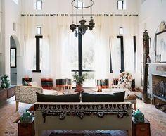 Das Haus von Interior Designerin Maryam #Montague. Inspiriert von #Marrakesch