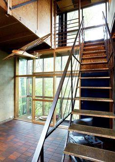 Et kubistisk og nokså funksjonelt ikon Residential Architecture, Interior Architecture, Interior And Exterior, Ikon, Stairs, Interiors, Home Decor, Ladders, Stairway