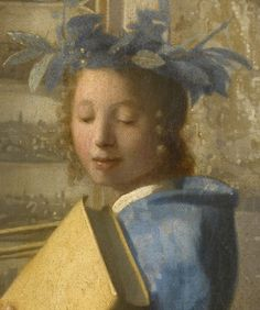 Jan Vermeer, Allegoria della pittura, 1666-1668. Vienna, Kunsthistorisches Museum (dettaglio)