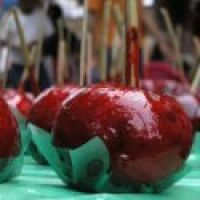 This is a fun, seasonal recipe that the whole family can enjoy! If they are old enough to be careful, let the kids help dip the apples into the coating