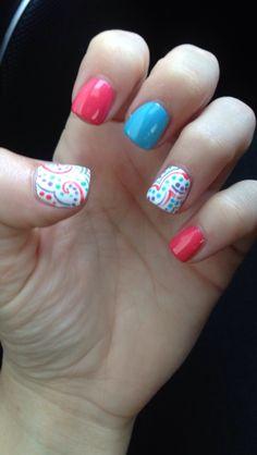 Paisley! #nails