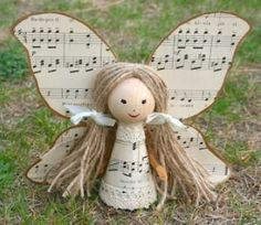 Musical angel....I might substitute that for a poem...