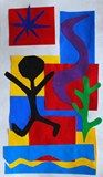 Matisse paper cut out   Anne Ernst (art teacher)