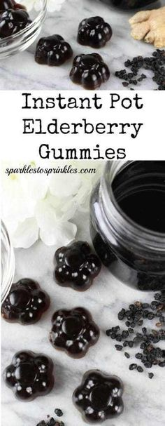 Instant Pot Elderberry Gummies Recipe ip elderberry gummies<br> People have been making Elderberry Syrup on the stove for years. Now simplify it by making it in your instant pot and making this delicious gummy recipe. Elderberry Gummy Recipe, Elderberry Recipes, Elderberry Syrup, Elderberry Ideas, Instant Pot, Homemade Baby Foods, Homemade Products, Pressure Cooker Recipes, Pressure Cooking