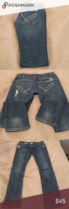 "William Rast Jeans William Rast Jeans, ""Savoy"" ultra low rise, long pockets, good stretch, super comfortable William Rast Jeans Straight Leg"