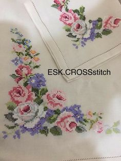 1 million+ Stunning Free Images to Use Anywhere Cross Stitch Rose, Cross Stitch Borders, Cross Stitch Flowers, Cross Stitch Patterns, Hand Embroidery Videos, Hand Embroidery Stitches, Cross Stitch Embroidery, Crochet Butterfly, Crochet Blankets