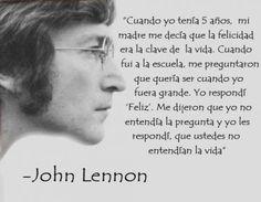 TOP 13 frases do john lennon Jhon Lennon, John Lennon Quotes, Quotes En Espanol, Verse, More Than Words, Spanish Quotes, Spanish Phrases, Picture Quotes, Decir No