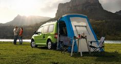 VW Caddy Maxi Camper