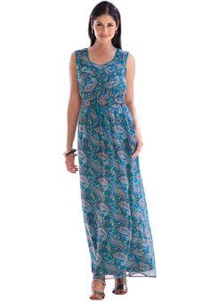 Plus Size Casual Maxi Dresses | Paisley Maxi | Plus Size Casual Dresses | Jessica London